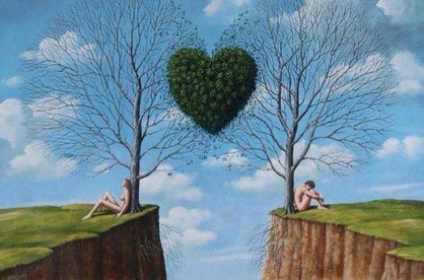 Любовные отношения между мужчиной и женщиной