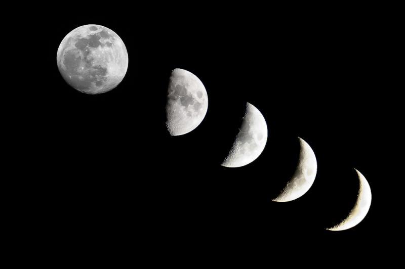фото как выглядит луна сегодня