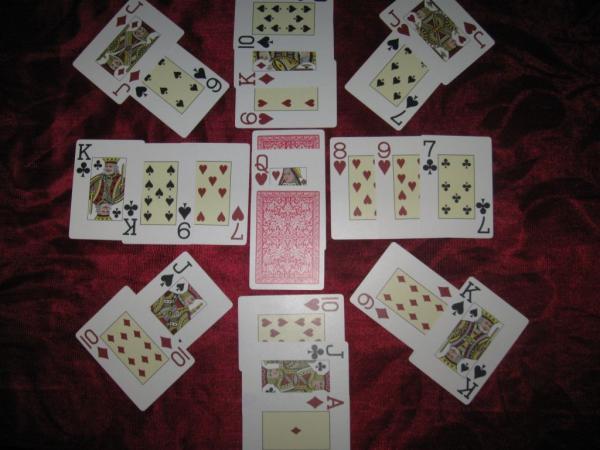 картах играть на расклад