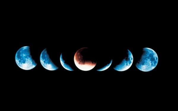 Когда бывает лунное затмение