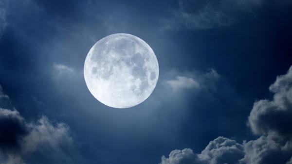 Лунный день сегодня 1 января 2018, 15-й лунный день, полнолуние