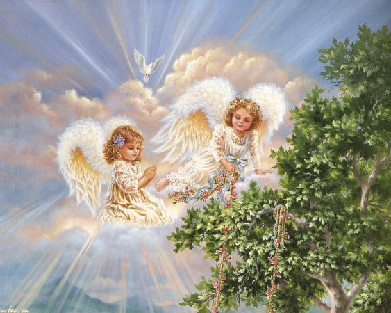 Именины сегодня 8 апреля  -  Авраам, Василий, Гавриил, Степан, Лариса, Анна, Алла