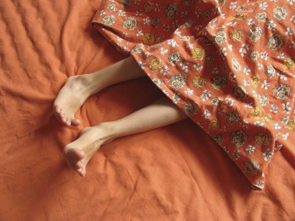 Заговор от судорог во сне