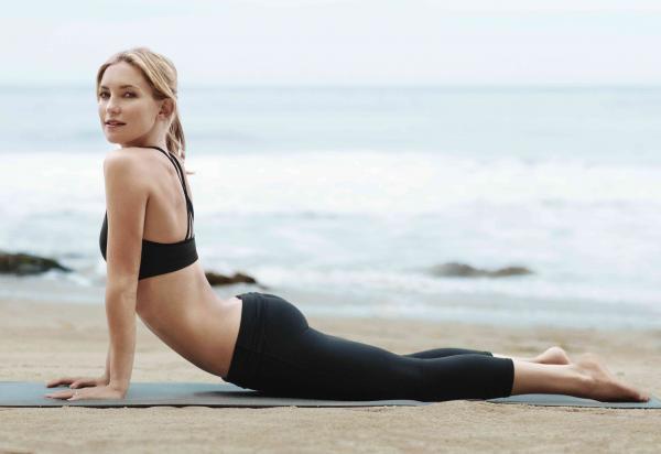 Йога помогает Кейт Хадсон оставаться спокойной