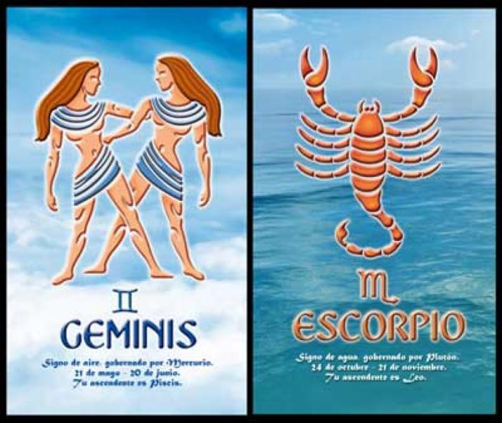 Совместимость близнецов и скорпионов секс
